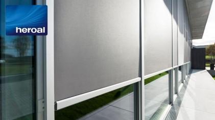 Ochrona przeciwsłoneczna z wszechstronnymi ekranami tekstylnymi