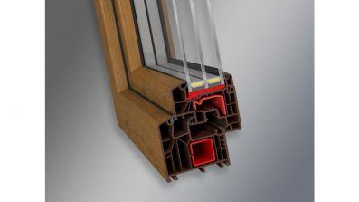 Igloopol System Igloo Termo Plus 8000 okno PCV