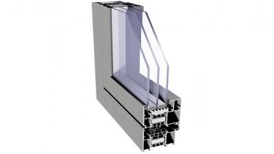 Igloopol System Superial i+ okno aluminiowe