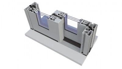 Igloopol System Ultraglide tarasowe drzwi przesuwne z aluminium
