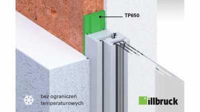 Montaż okien w zimę bez ograniczeń temperaturowych z wykorzystaniem taśmy rozprężnej illbruck TP650