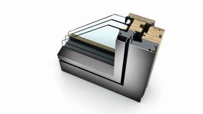 Profil okno drewniano-aluminiowe HF410 Internorm