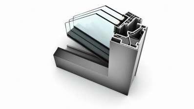 Okno PCV Internorm KF500 z nakładkami aluminiowymi
