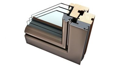Internorm HF 310 okno drewniano-aluminiowe Ambiente