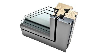 Internorm HF 310 okno drewniano-aluminiowe Studio