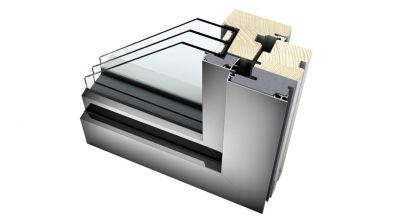 Internorm HF 310 okno drewniano-aluminiowe Home Pure