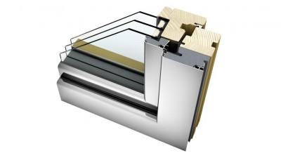 Internorm HF 310 okno drewniano-aluminiowe Home Soft