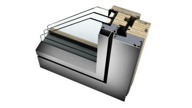 Internorm HF 410 okna drewniano-aluminiowe Studio