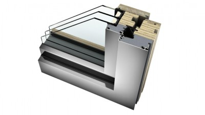 Internorm HF 410 okna drewniano-aluminiowe Home Pure