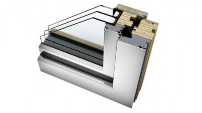 Internorm HF 410 okna drewniano-aluminiowe Home Soft