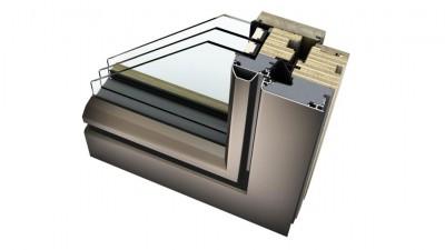 Internorm HF 410 okna drewniano-aluminiowe Ambiente