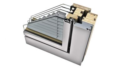 Internorm HV 450 okno drewniano-aluminiowe z zintegrowaną żaluzją Home Soft