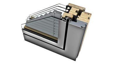 Internorm HV 450 okno drewniano-aluminiowe z zintegrowaną żaluzją Home Pure