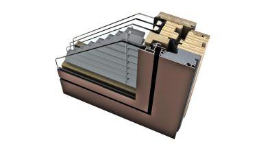 Internorm HV 450 okno drewniano-aluminiowe z zintegrowaną żaluzją Ambiente