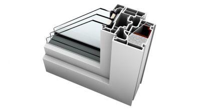 Internorm KF 410 okno PCV Home Pure