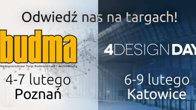 Internorm na targach Budma 2020 i 4 Design Days 2020