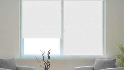 Roleta okienna mocowana bez wiercenia, na klipsy