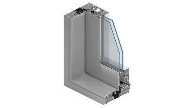 Aluminiowe tarasowe drzwi unoszono-przesuwne HST KNS MB-77 HS