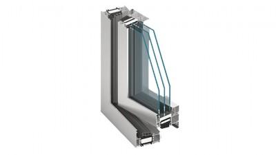 Maszrol Aluprof MB-86 okno aluminiowe