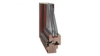 Maszrol VBH 78 okno drewniane