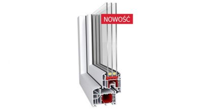 Okno PCV Mirox Ideal 4000 Soft Line 85mm
