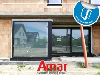 Montaż okien PVC i ALU w kolorze Jet Black Mat w warstwie izolacji termicznej