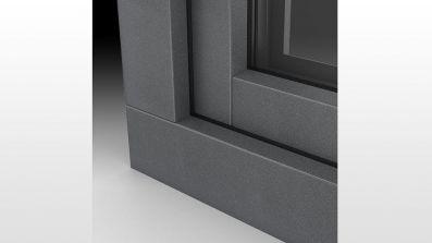 Okna PCV Alu Look w kolorze Alux DB - MS więcej niż OKNA