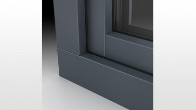 Okna PCV Alu Look w kolorze szary antracyt - MS więcej niż OKNA