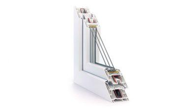 NexBau Rehau Synego okno PVC