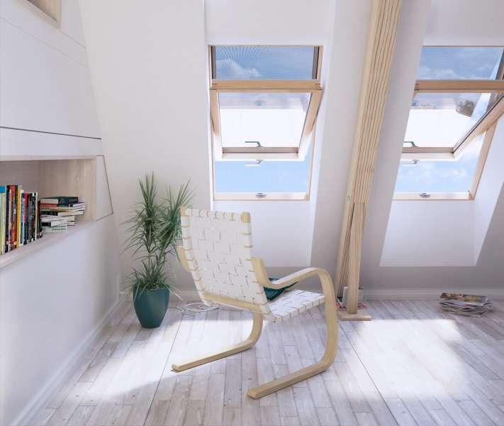 Okna Dachowe Drewniane Czy Z Pcv