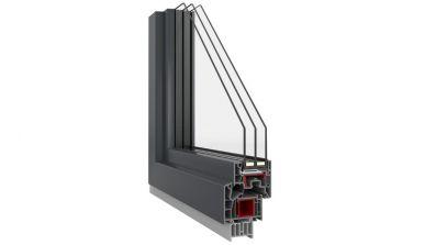 Okna Vetrex LUM`UP przekrój