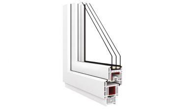 Okno Vetrex V70 przekrój