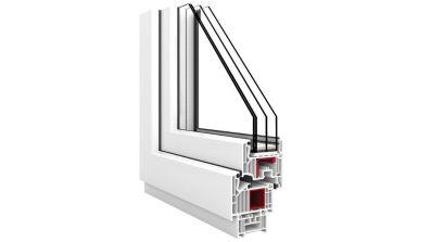 Okno Vetrex V82 ProSafe przekrój