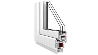 Okno Vetrex V82 przekrój