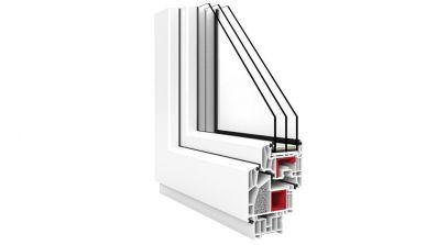 Okno Vetrex V90 przekrój