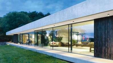 Okna od podłogi do sufitu – Internorm HX 300 Panorama