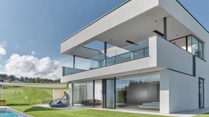 Wielkoformatowe okna do nowoczesnych domów