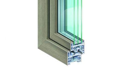 Oknal Kömmerling 76mm MD okno PCV