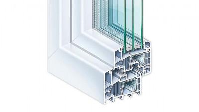 Oknal Kömmerling 88 Plus okna PCV