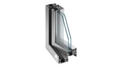 Okno aluminiowe MB-70 Plastbud