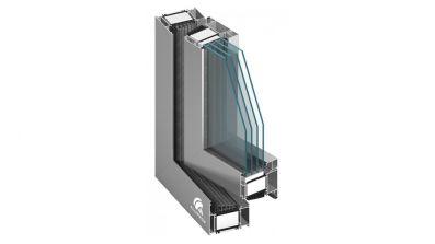 Oknoplast MB-104 Passive okno aluminiowe