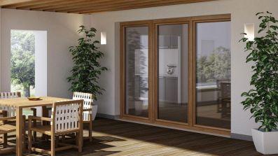 Wyjście na taras - drzwi balkonowe Oknoplast Winergetic Premium