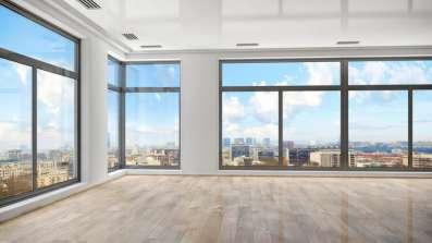 Okna panoramiczne - duże przeszklenia