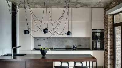 Kuchnia w stylu industrialnym - fot. OknoPlus