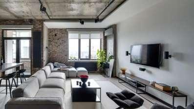 Mieszkanie w stylu industrialnym - fot. OknoPlus