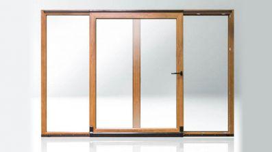 Tarasowe drzwi uchylno-przesuwne PSK Pagen DuoPort SK-S / SK-Z