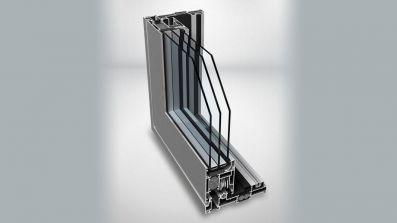 Aluminiowe, tarasowe drzwi przesuwne HST Sliding SL 1600 TT Pagen na profilu Ponzio