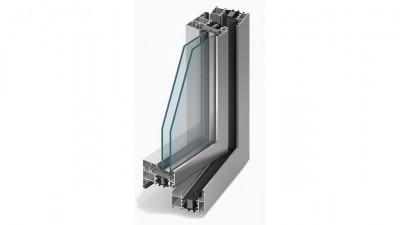 Pamo Aluprof MB-70 okno aluminiowe