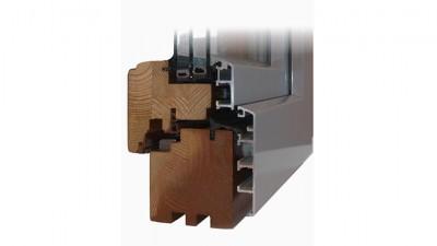 Pamo Pamoline Max okno drewniano-aluminiowe
