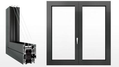 Petecki ALU Excellent Line MB 86 okno aluminiowe
